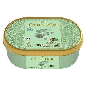 Carte D'Or Classic Mint Ice Cream 1L & Other Flavours - £2 @ Sainsburys (Min basket £40 + up to £7 delivery)