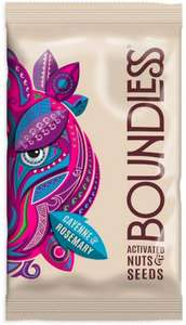 Boundless Activated Nuts & Seeds (Mixed Case) 12 x 30g at Amazon for £1.25 Prime (£2.99 non Prime)