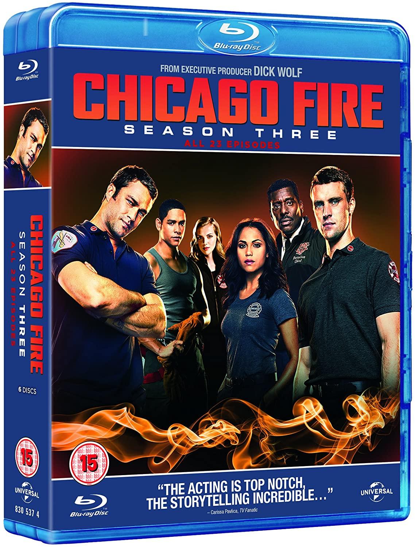 Chicago Fire - Season 3 [Blu-ray] [2014] £5.24 @ Amazon Prime (+£1.99 non Prime)