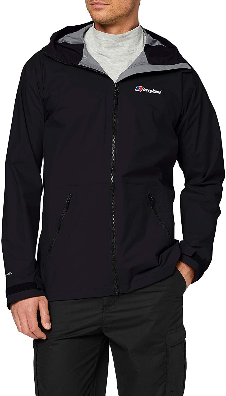 Berghaus Men's Deluge Pro 2.0 Waterproof Long Sleeve Shell Jacket - Size S @ Amazon for £38.18