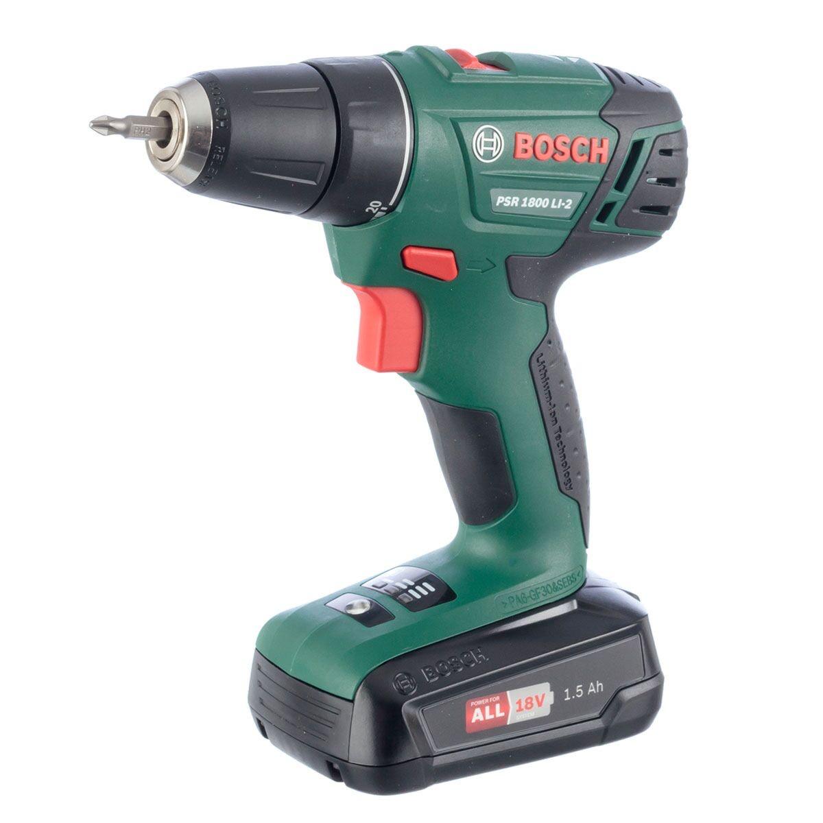 Bosch PSR 1800 18V Cordless Power Drill £59.99 @ Robert Dyas
