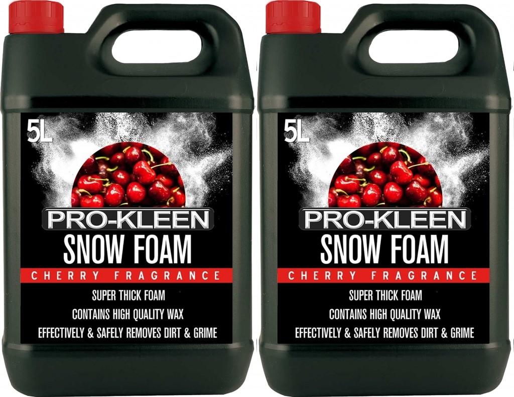 2 x 5L Pro-Kleen Cherry Snow Foam £18.98 @ HSD