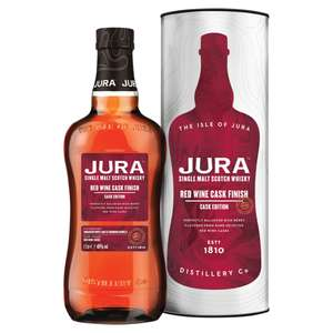 Jura whisky Red wine cask £30 @ Sainsbury's (Min basket £40 + up to £7 delivery)