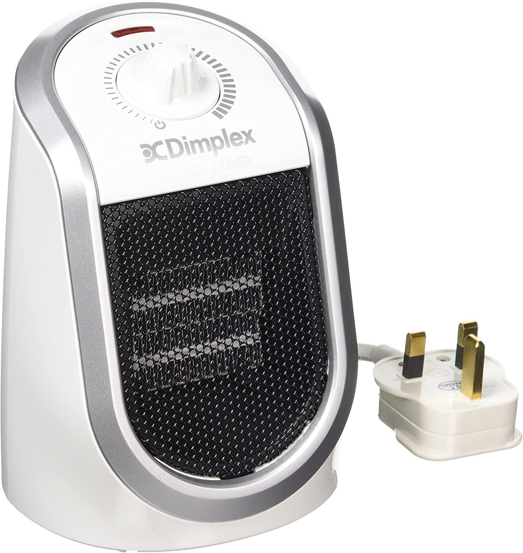 Dimplex DDF250 Personal Desk Heater with USB Charging Port, 250 Watt, White with Silver Trim £13.95 (Prime) £18.44 (Non-Prime) @ Amazon