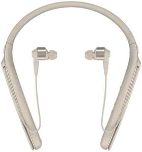 Sony WI-1000X Wireless Noise Cancelling In-Ear Headphones, 10 Hours Battery Life, Alexa Built-In, Gold - £89.59 @ Amazon Spain