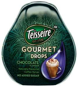 Teisseire Gourmet Drops Chocolate Flavour 66ml 19p instore @ Home Bargains Liverpool