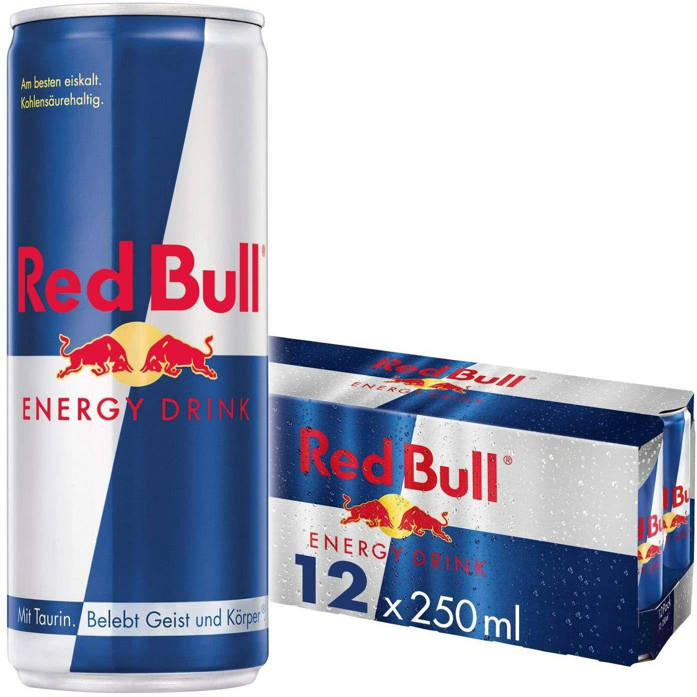Red Bull 12 x 250 ml - £11.85 with Prime on Amazon / £16.34 non-Prime