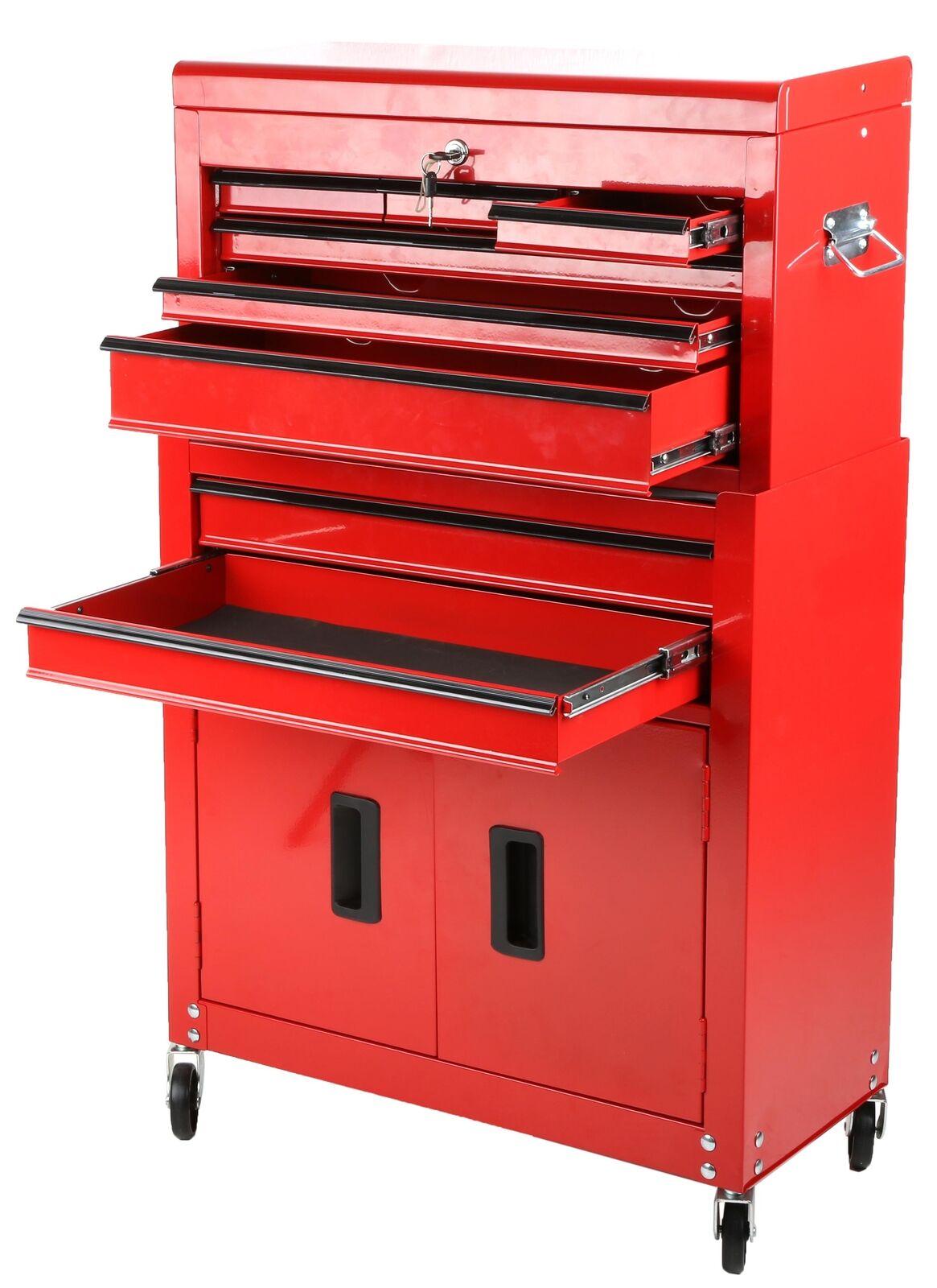 Halfords DIY Storage Store Garage Workshop Chest Cabinet 8 Drawer Tool Centre - £80 Delivered @ Halfords/ eBay