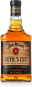 Jim Beam Devil's Cut Bourbon Whiskey 45% - £18 prime / £22.49 non prime @ Amazon