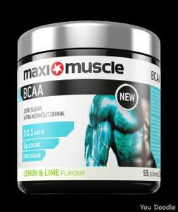 Maximuscle BCAA Zero Sugar 330g Tub - Lemon And Lime (BBE 21/05/20) £8.99 (£3.95 delivery under £50) at MaxiNutrition