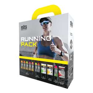 SiS Running Pack £6.25 + £3.99 del @ SiS (Science in Sport) + you can get 6 pack gel on orders over £30