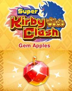 Nintendo Super Kirby Clash 100 Gem Apples | Nintendo Switch - Download Code at Amazon £1.09