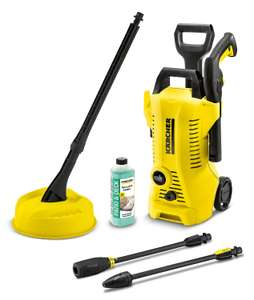 Karcher K2 Full Control Home Corded Pressure washer 1.4kW at B&Q for £105
