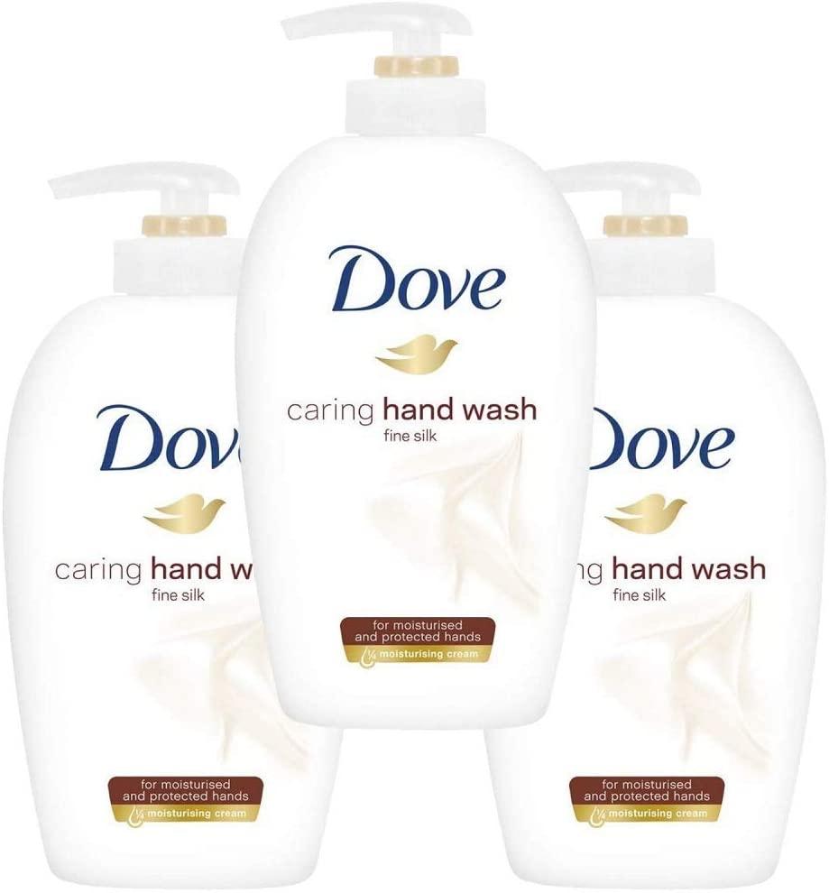 Dove Supreme Silk Beauty Cream Wash 250 ml (Pack of 3) £3 (+£4.49 NP) at Amazon