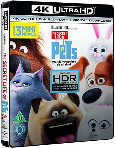The Secret Life Of Pets 4K [Blu-ray] [2015] £9.99 prime / £12.98 nonPrime @ amazon.co.uk