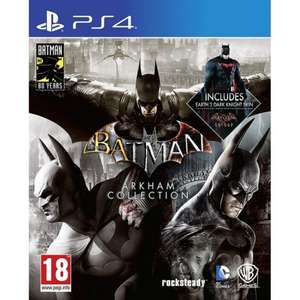Batman Arkham Collection Triple Pack £17.95 Delivered @ The Game Collection