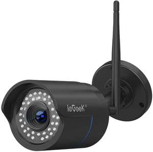 ieGeek Security Outdoor Camera 1080P Waterproof £26.82 Sold by Xiaoshi and Fulfilled by Amazon.