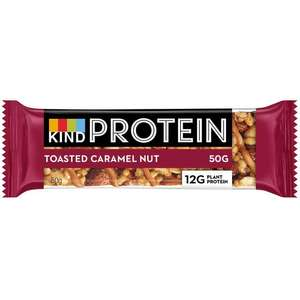 Kind protein nutty bar 39p in Poundstretcher in Diss