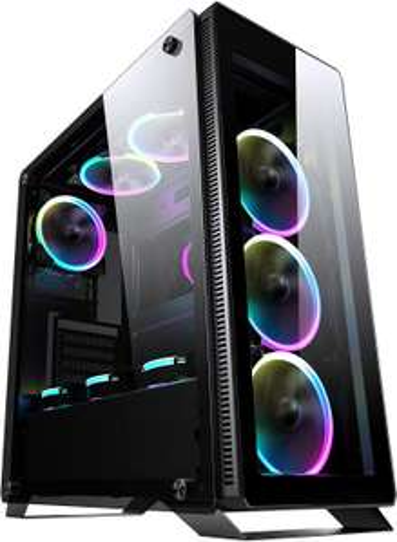 Sahara Gaming C500B ATX PC Case Black P35 case £41.99 @ Amazon
