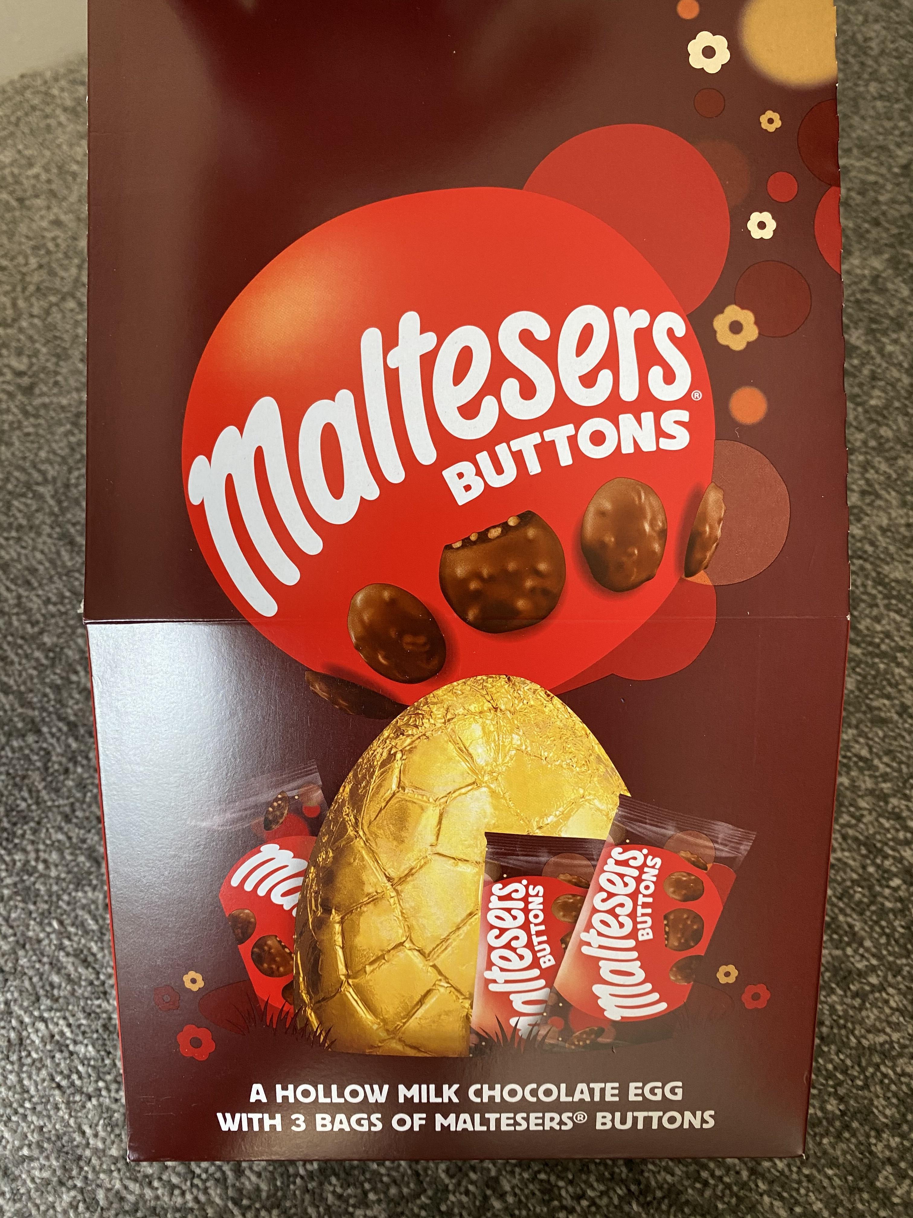 Malteaser Buttons Easter Egg - Morrison's - £1