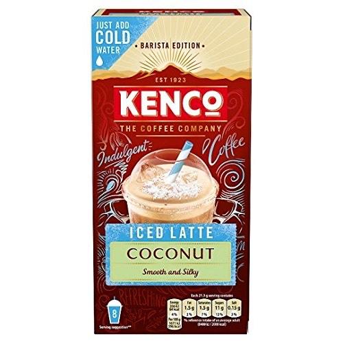 Kenco Iced Latte Coconut - £2.49 (Prime) £6.98 (Non Prime) £2.37 (S&S) @ Amazon