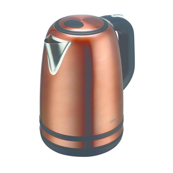 LOGIK 1.7L 3000W Jug Kettle - Copper £15.19 Delivered @ Currys
