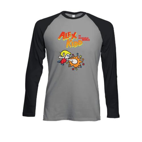 Official Alex Kidd In Miracle World Punch Raglan - £8.99 Delivered @ Segashop