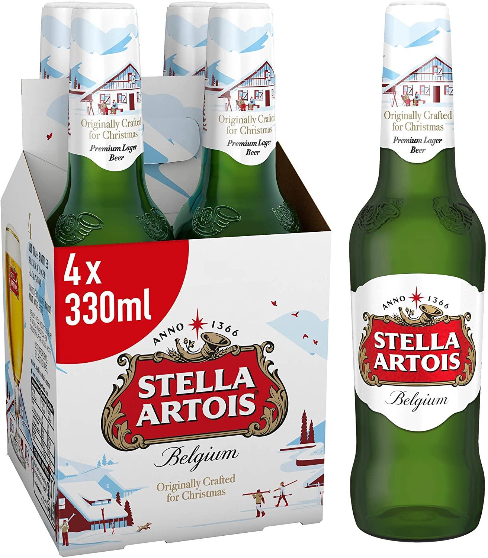 4 X 330ml Stella Artois £2.50 @ Co-op (Budleigh)