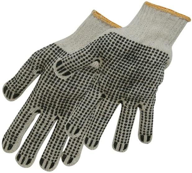Silverline 783131 Double Sided Dot Gloves - 64p (Prime) // +£4.49 (non Prime) @ Amazon