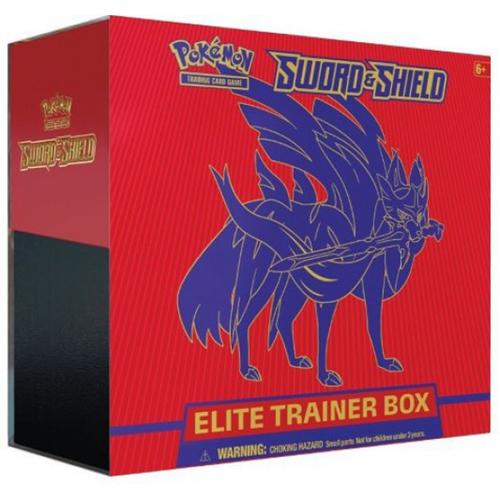 Pokemon TCG: Sword & Shield Elite Trainer Box £29.29 +£2.99 delivery @ Toy Street