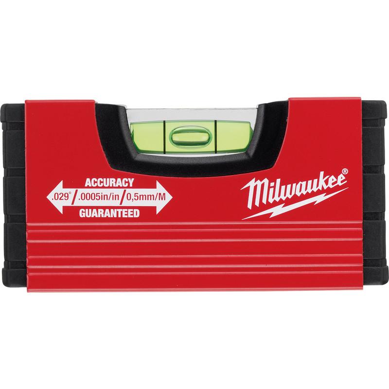Milwaukee MINIBOX Spirit Level 100mm - £4.79 (+£5 Delivery) @ Toolstation