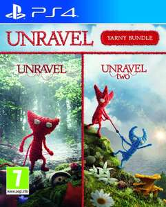 Unravel 1 & 2 Yarney bundle (PS4) at Argos for £14.99 (£3.95 delivery)