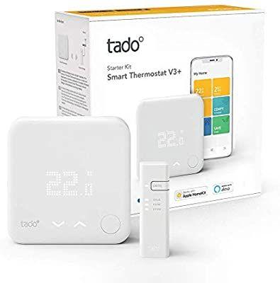 tado° Smart Thermostat Starter Kit V3+ - Intelligent Heating Control, Easy DIY Installation £103.95 @ Amazon