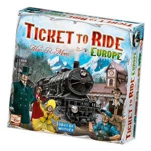 Ticket to Ride Europe £31.19 @ Magic Madhouse