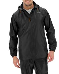 Snowdonia Packable Waterproof Jacket, Black/Navy £19.50 delivered at Jacamo