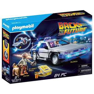 Playmobil 70317 Back to the Future DeLorean available for home delivery at Smyths Toys - £49.99
