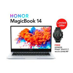 Honor MagicBook and Honor Watch for £499.99 Delivered using code @ Laptop Outlet / eBay