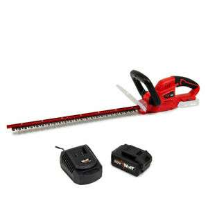 Fox Cordless Hedge Trimmer 52cm Laser Cut Blade 20v with Battery & Charger for £71.99 delivered (using code) @ eBay / UK Home Shopping