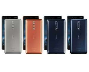 Grade B Nokia 8 sim free 4/64GB refurbished £103.49 @ Stockmustgo eBay