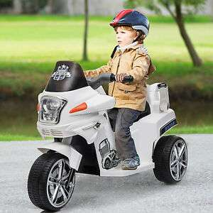 HOMCOM 6V Rechargeable Electric Ride On with working Headlights now £42.99 delivered with code @ eBay / mhstarukltd