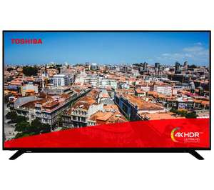 """Toshiba 58U2963DB 58"""" Smart 4K Ultra HD TV with HDR10 and Dolby Vision - £349.99 delivered @ Currys PC World"""
