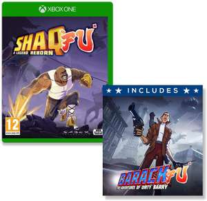 Shaq Fu A Legend Reborn (Xbox One) + Bonus game Barack Fu £3.99 (Prime) £6.98 (Non Prime) @ Amazon