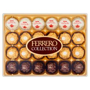 Ferrero Collection Box of Chocolate 24 Pieces 269g - £3 @ Heron Foods (Walsall)