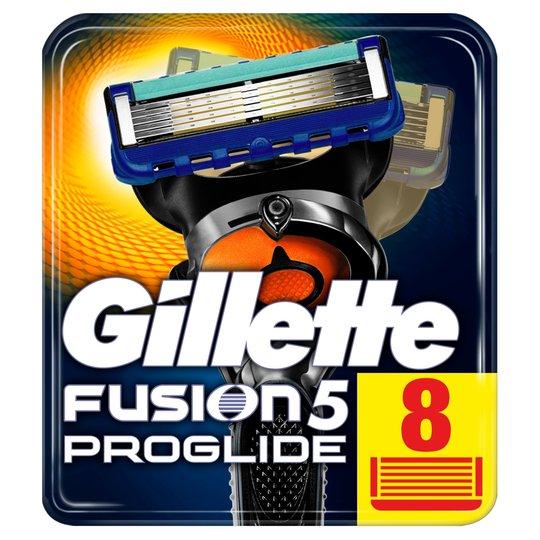 Gillette Fusion Proglide Razor Blades Refill 8 Pack now £18 @ Tesco