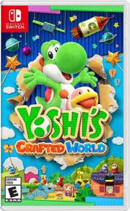Yoshi's crafted world for Nintendo switch only £39.55 using code @ the game collection outlet / ebay