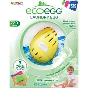 Ecoegg 720 Washes, 6 detox tablets and stand £18 + £3.95 delivery @ QVC