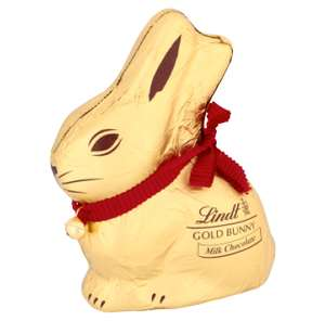 Lindt bunnies small 12p various flavours at Tesco instore