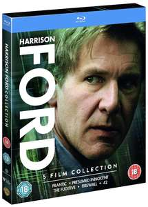 Harrison Ford Collection [Blu-ray] [2015] [Region Free] £12.03 (£15.02 without Prime) @ Amazon