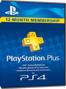 PlayStation Network Plus 12 Month Membership £39.77 MMOGA