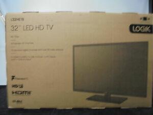 "LOGIK L32HE18 32"" LED HD TV - Black - DAMAGED BOX - £107.28 with code @ currys_clearance eBay"